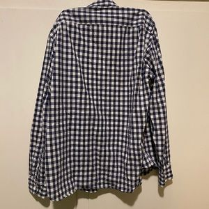 J. Crew Shirts - J crew blue plaid button up, size xl slim
